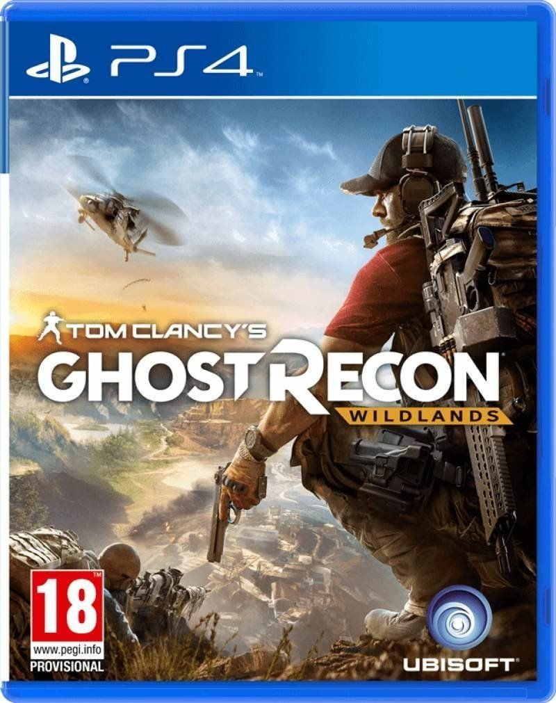 Tom Clancy S Ghost Recon Wildlands Juego Ps4 Original Play 4