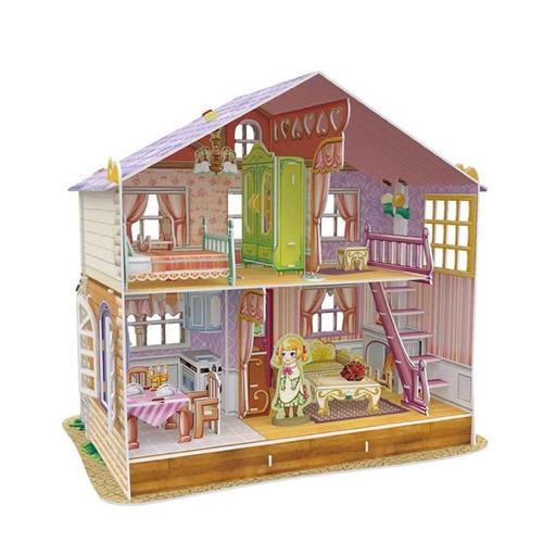 juego puzzle 3d dreamy dollhouse --smartmom