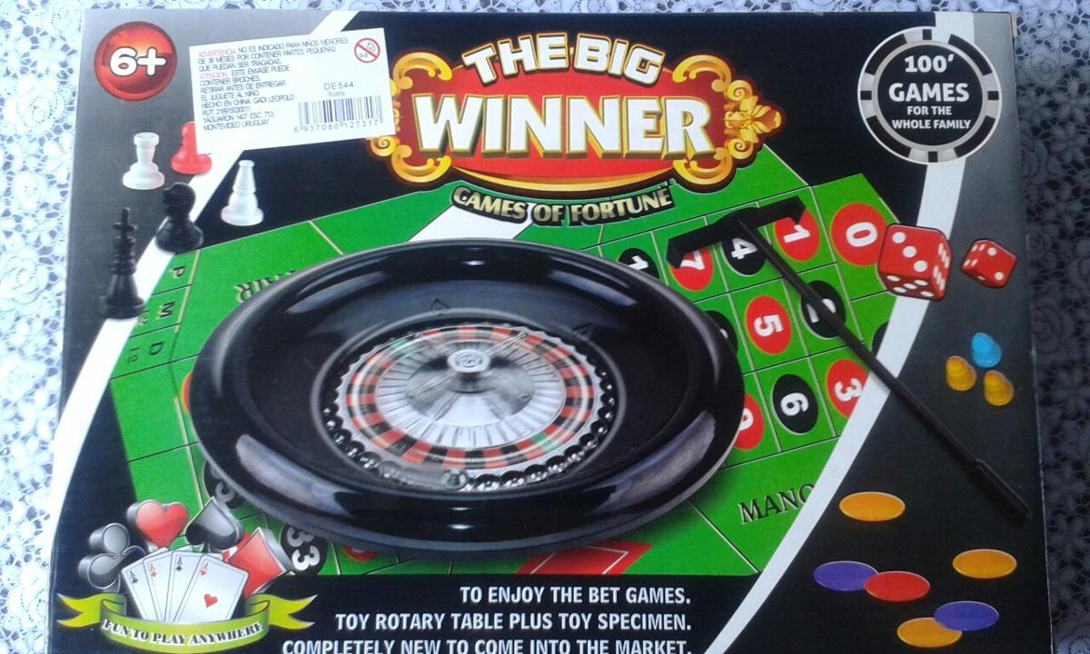 Juego Ruleta 100 Juegos En Uno Genial Y Divertido 450 00 En