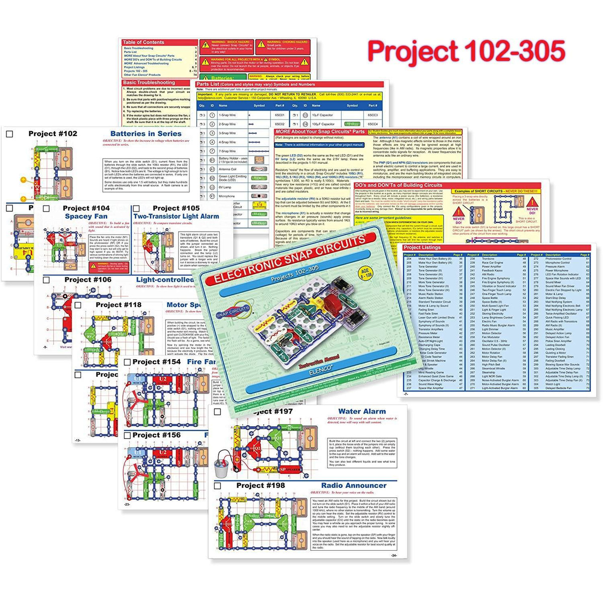 Snap Circuits Extreme Sc750 Product Details Page
