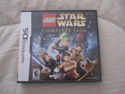 juego star wars the complete saga nintendo ds impecable