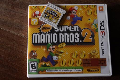 juego ¿super mario bros2¿ para nintendo ds 3d. version usa