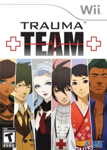 juego wii trauma team nintendo wii