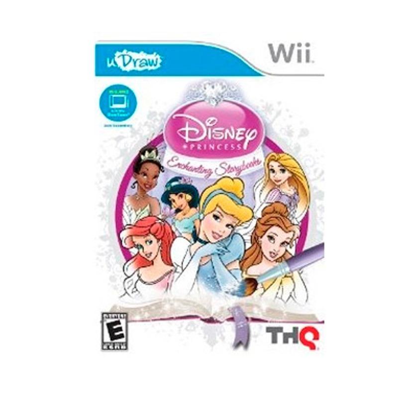 Juego Wii U Draw Disney Oficial Princess U S 22 00 En Mercado Libre