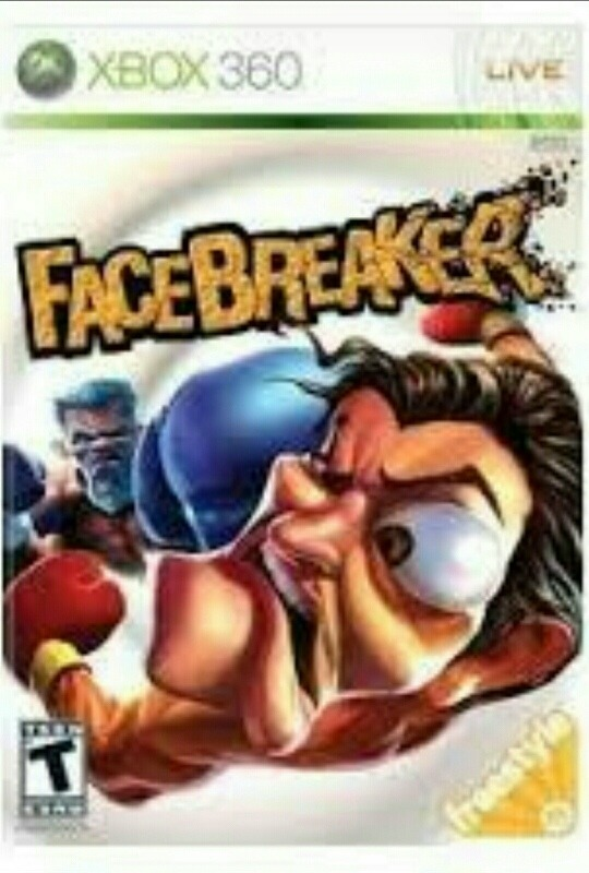 Facebreaker Juego Original Xbox 360 Fisico Super Divertido 795
