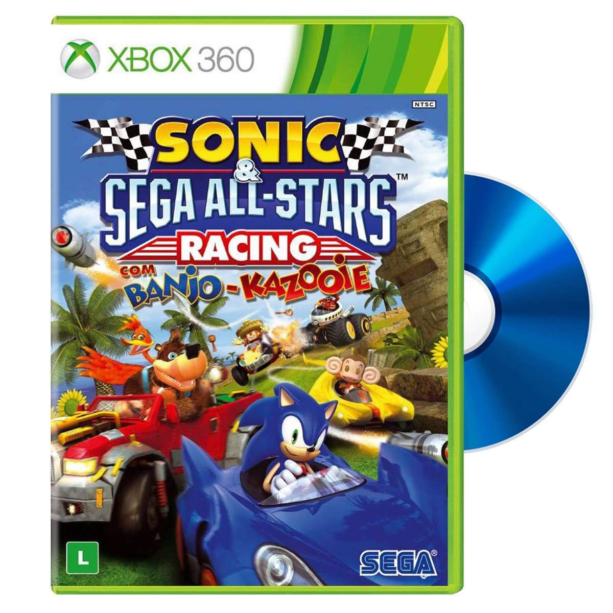 98332d75429d juego xbox 360 fisico sonic   sega all stars racing nuevo. Cargando zoom.