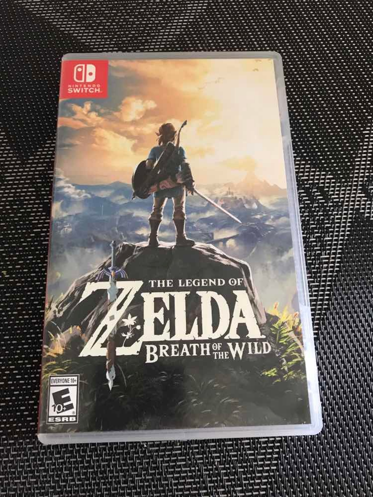 Juego Zelda Breath Of The Wild Nintendo Switch Fisico 2 500 00