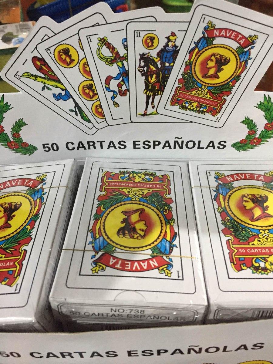 Juegos 50 Cartas Espanolas 40 00 En Mercado Libre
