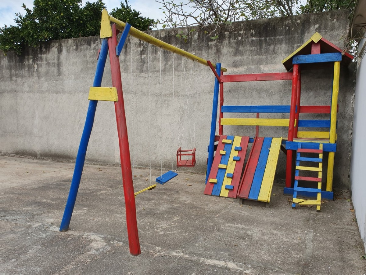 Juegos De Jardin Para Niños En Madera $ 5.000 - $ 5.000,00 en ...