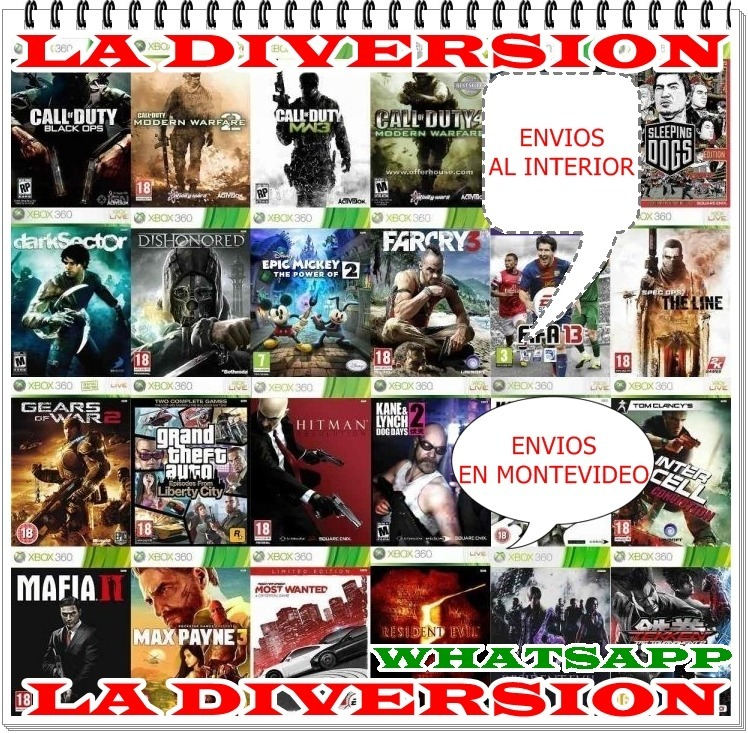 Juegos De Xbox 360 Rgh En Disco Duro 100 00 En Mercado Libre