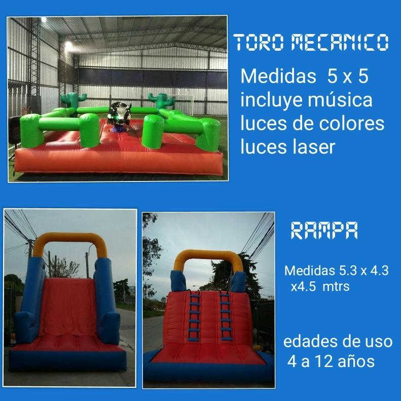 Juegos Inflables Para Grandes Y Chicos 8 00 En Mercado Libre