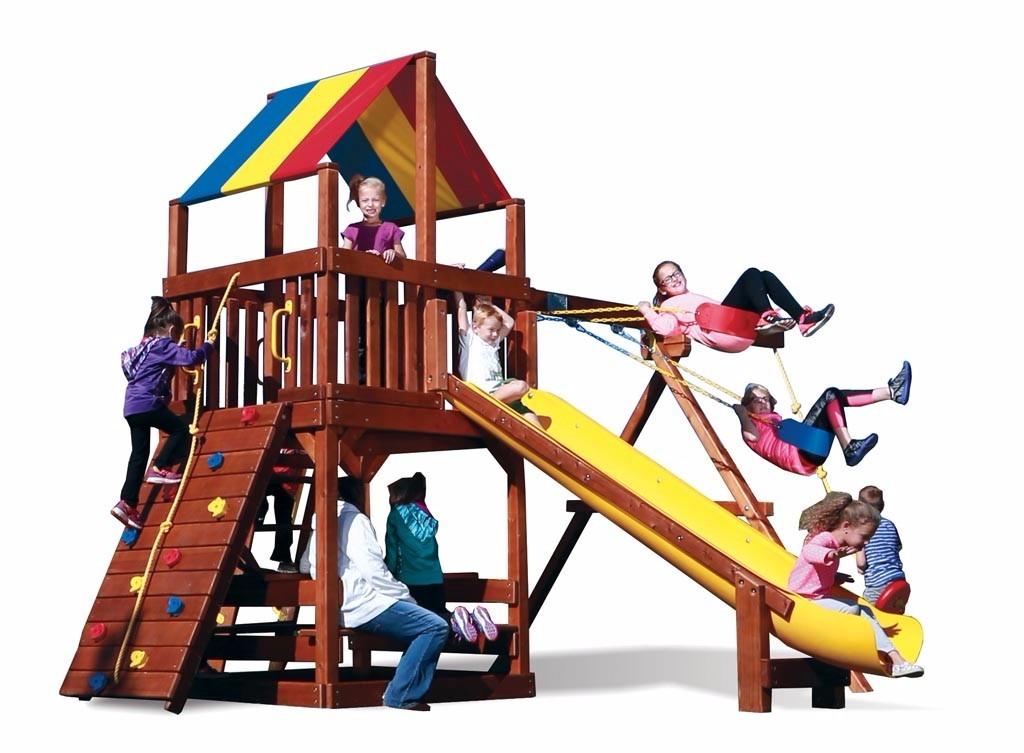 Juegos Jardin Exterior Infantiles Rainbow U S 3 759 00 En Mercado