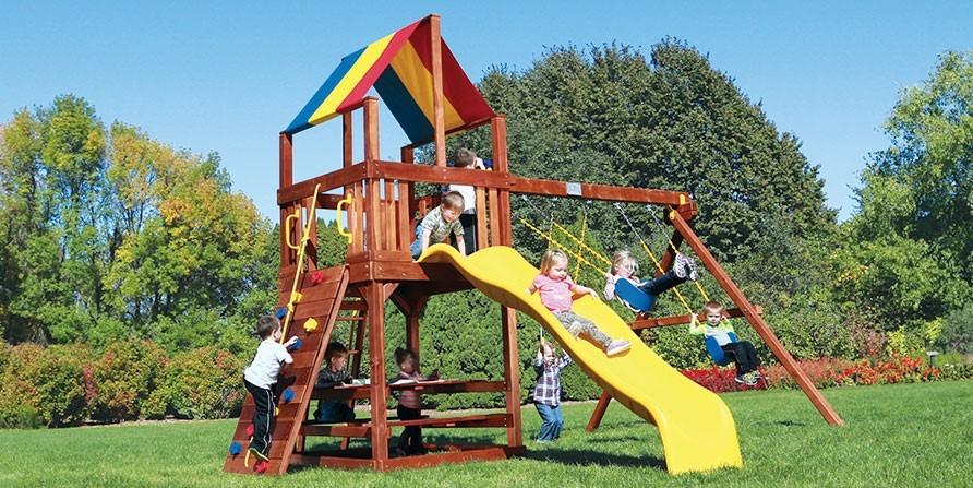 Juegos Jardin Infantiles Rainbow Fiesta Club House Fch8 Ii