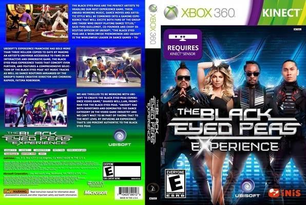 Juegos Kinect Xbox 360 The Black Eyed Peas Nuevo Leer 490