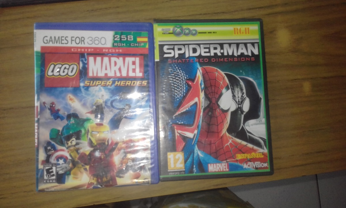 Juegos Lego Y Marvel Para Xbox 360 Rgh 100 Cada Uno 100 00