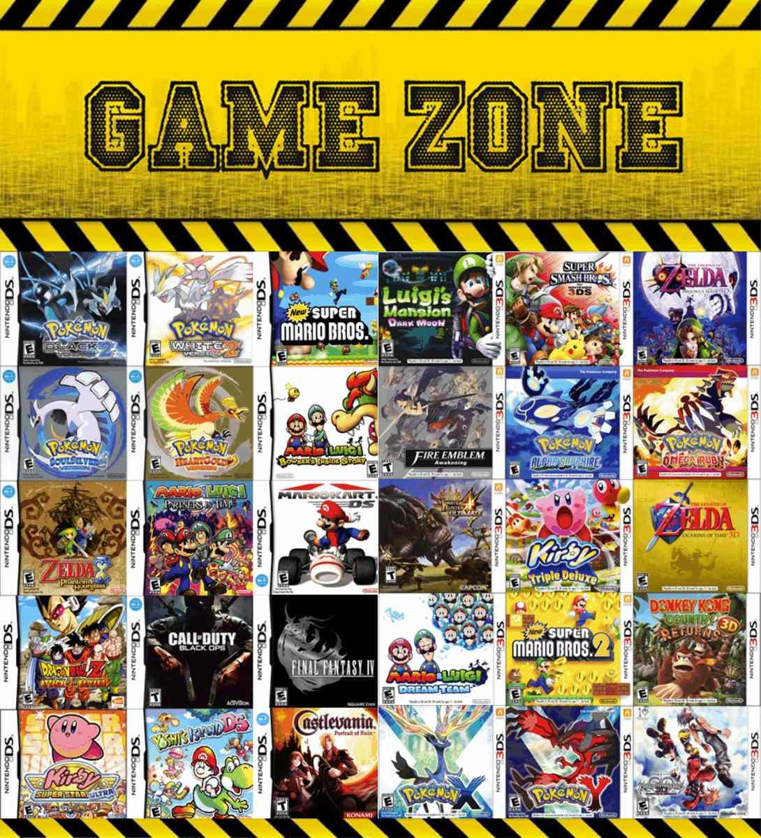 Juegos De Nintendo Ds 3ds Por Pedido Stock Consulte Precio