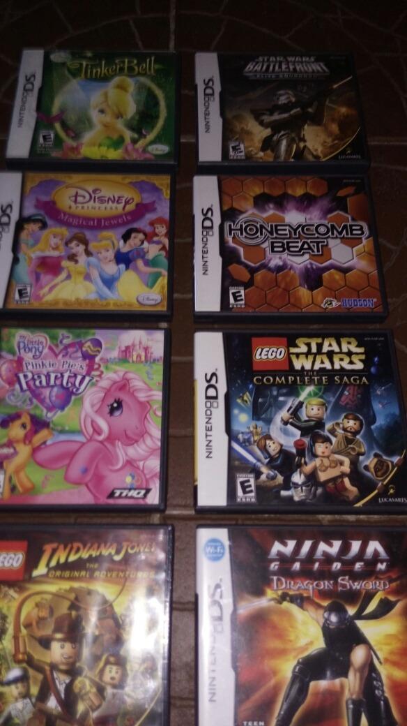 Juegos Nintendo Ds Ds Lite Originales 450 00 En Mercado Libre