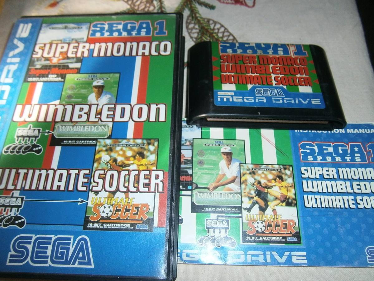 3 Juegos En 1 Original Sega Genesis Con Manuales 750 00 En