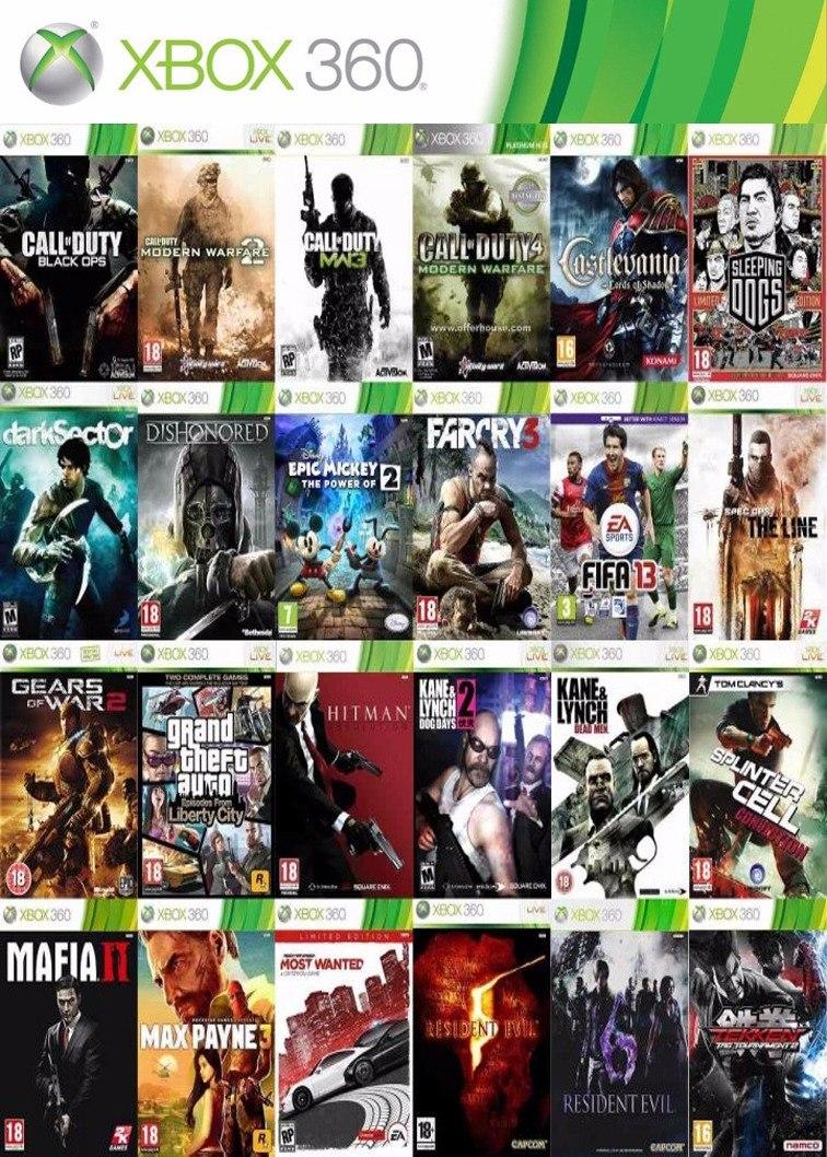 Juegos Xbox 360 Rgh Lt 2 0 Lt 3 0 Envios Y Locales 100