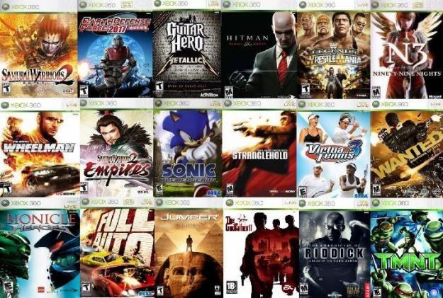 Juegos Xbox 360 Originales Solo Canje Envio Gratis 200