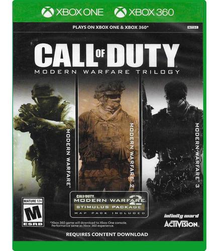 juegos xbox one call of duty modern warfare trilogy nuevo