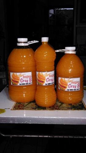 jugos naturales grey's sin aditivos ,ni conservantes.