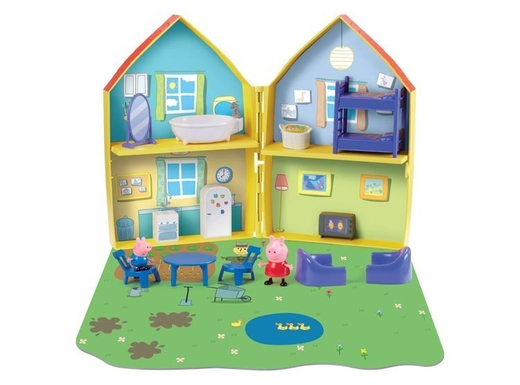 Accesorios Casa Juguete Y Peppa Pig Figuras Con cF3lJ5uTK1