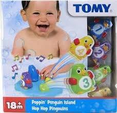 juguete juego isla de pinguinos tomy