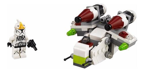 juguete lego star wars microfighters 2: nave de la república