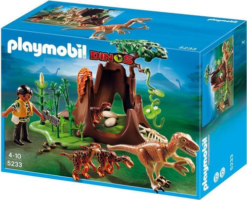 juguete plymobil 5233 velociraptors super oferta