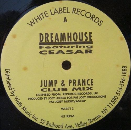 jump & prance música electrónica vinilo importado