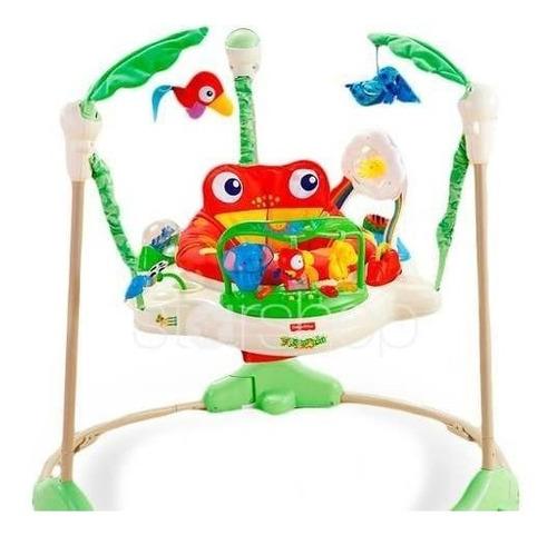 jumper saltarin bebé original entretenedor + luces + música