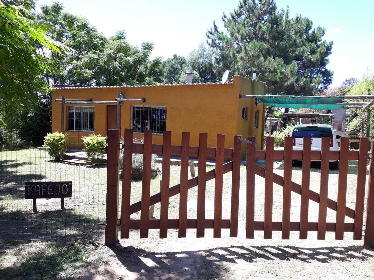 kafejo casa-cabaña en barrio country piriapolis