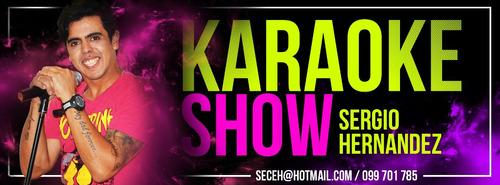 karaoke, animación, karaoke show!