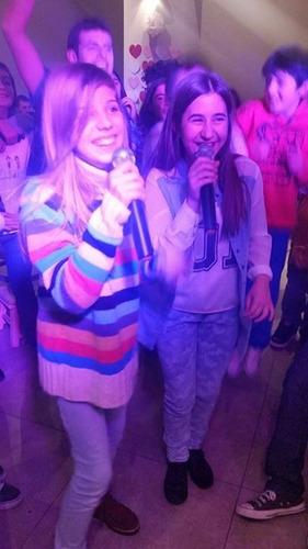 karaoke fiesta. karaoke!!