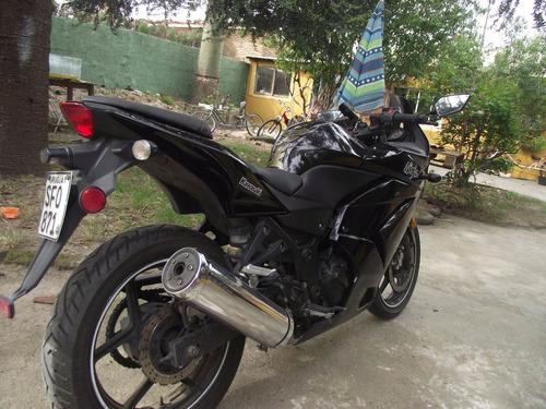 kawa ninja 250 moto