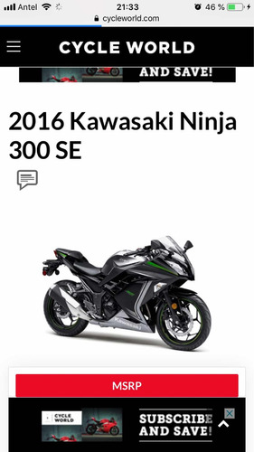 kawasaki ninja 300 special edition abs made in japan