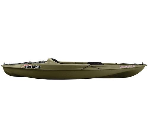 kayak de pesca, super completo, 3 posacañas, bolsillos, tapa