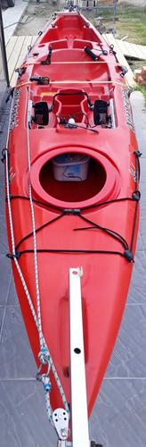 kayak de pesca y travesia super completo