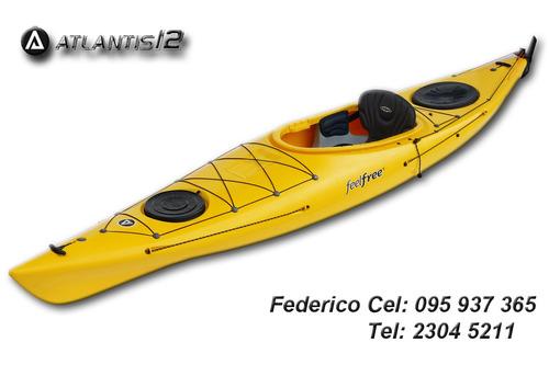 kayak feelfree - atlantis 12 travesia