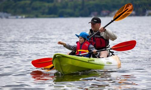 kayak feelfree - gemini 2 adultos 1 niño