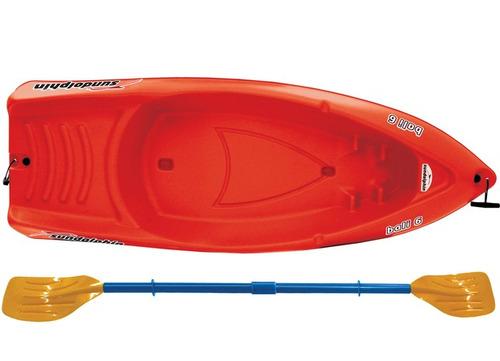 kayak niños, origen usa corre olas. sundolphin