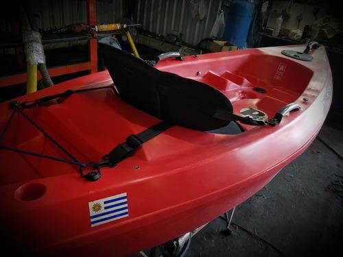 kayak strobel rotonautic rotomoldeado en polietileno
