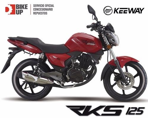 keeway rks 125 - lista para circular - permutas - bike up