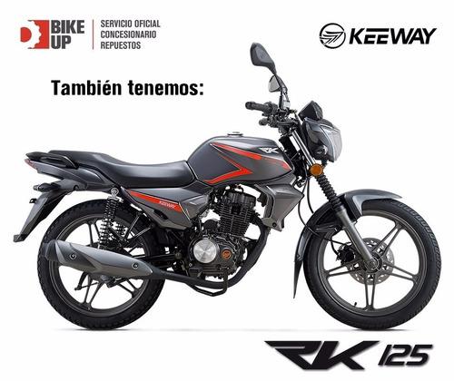 keeway rks 125 - permutas - tomamos usadas - bike up