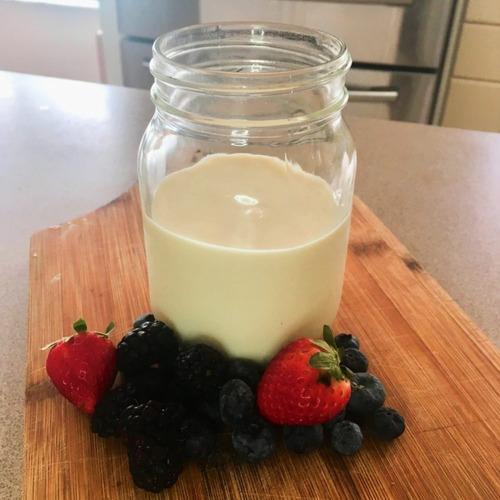 kéfir - yoka - yogurt natural de leche