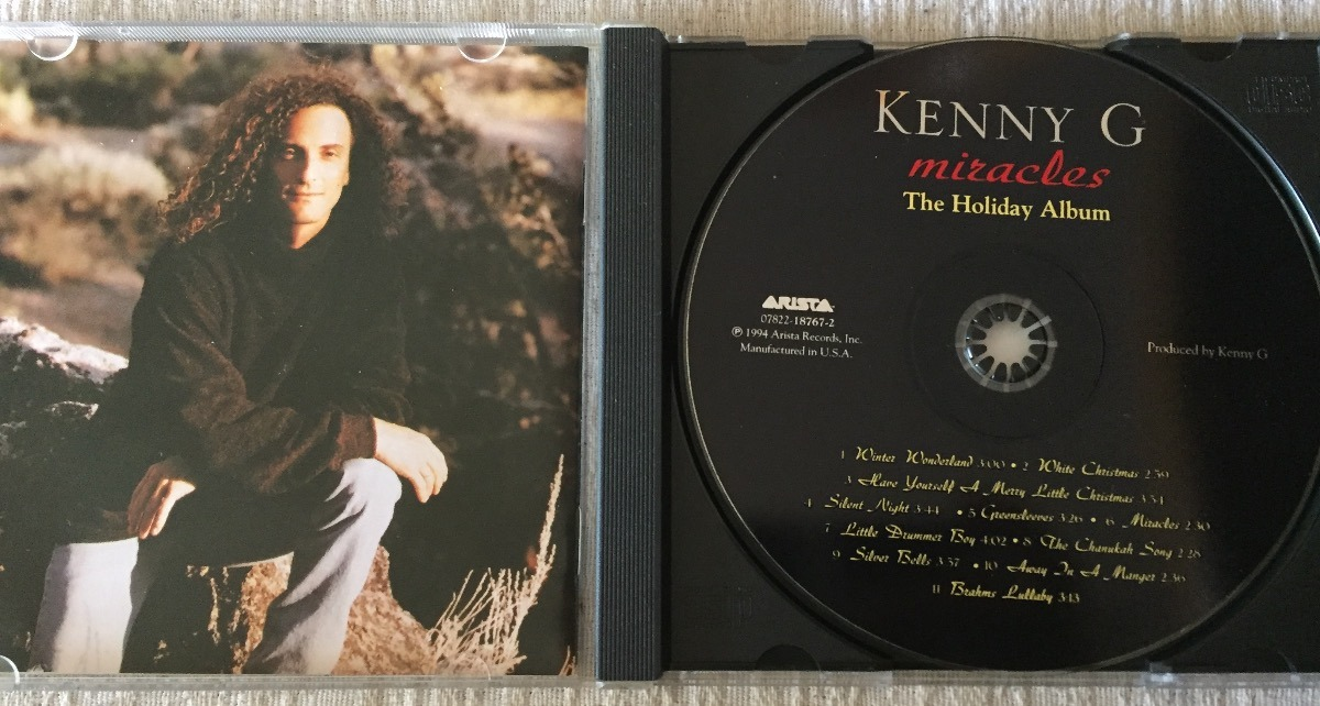 Kenny G - Miracles: The Holiday Album - Jazz Cd - $ 390,00 en ...
