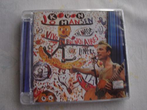 kevin johansen + the nada + liniers cd nuevo