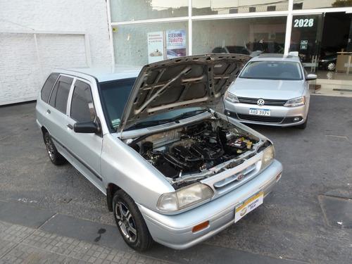 kia pride rural full nueva!!! 100% financio galbo motors