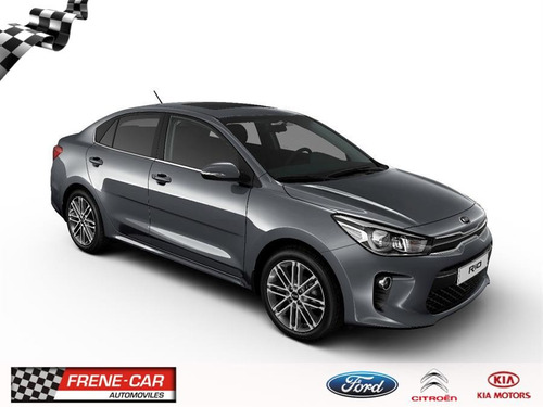 kia rio new rio sedan 1.4 16v mt, 2018, frene car